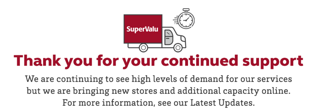 SuperValu and Tesco are working hard to match capacity to demand